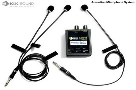 Accordion Microphone System